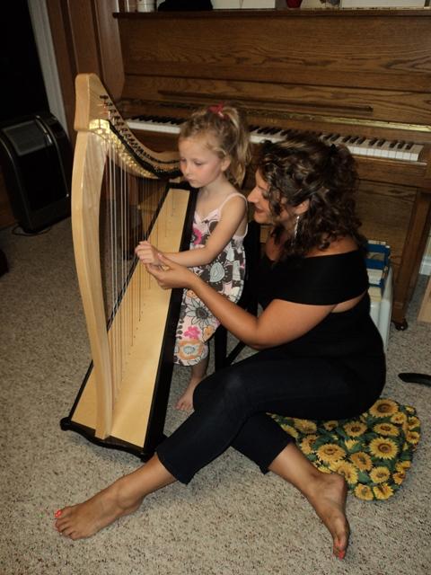 Divine Harp Alyssa Michalsky